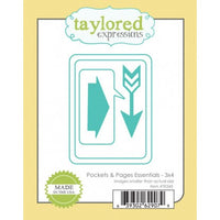 Taylored Expressions - Dies - Pockets & Pages Essentials 3 x 4