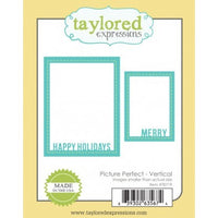Taylored Expressions - Dies - Picture Perfect Vertical