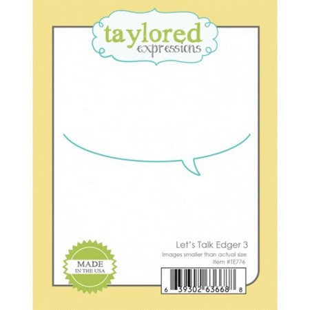 Taylored Expressions - Dies - Let's Talk Edger 3
