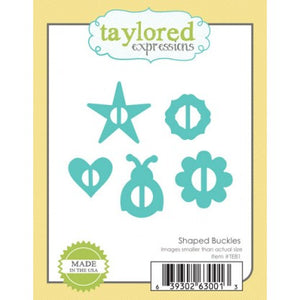 Taylored Expressions - Dies - Shaped Buckles