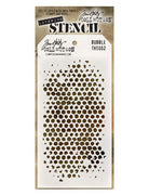 Tim Holtz - Stencil - Bubble