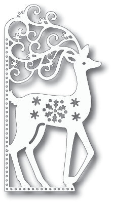 Tutti Designs - Dies - Scrolly Deer Edge