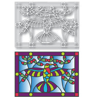 Tutti Designs - Dies - Hummingbird Stained Glass