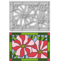 Tutti Designs - Dies - Poppies Stained Glass