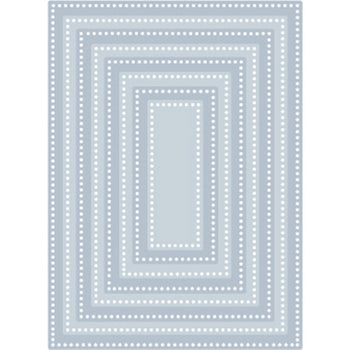 Tutti Designs - Dotted Nesting Rectangles