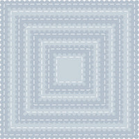 Tutti Designs - Scalloped Stitched Nesting Squares