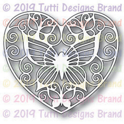 Tutti Designs - Dies - Butterfly Medallion