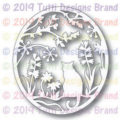 Tutti Designs - Dies - Cat In The Garden