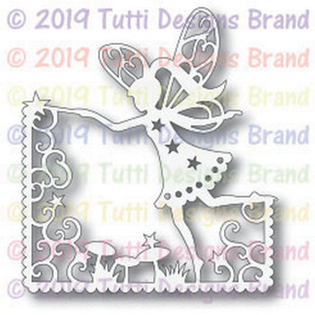 Tutti Designs - Dies - Flying Fairy Scene