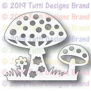 Tutti Designs - Dies - Magical Toadstools