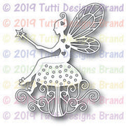 Tutti Designs - Dies - Fairy With Wand