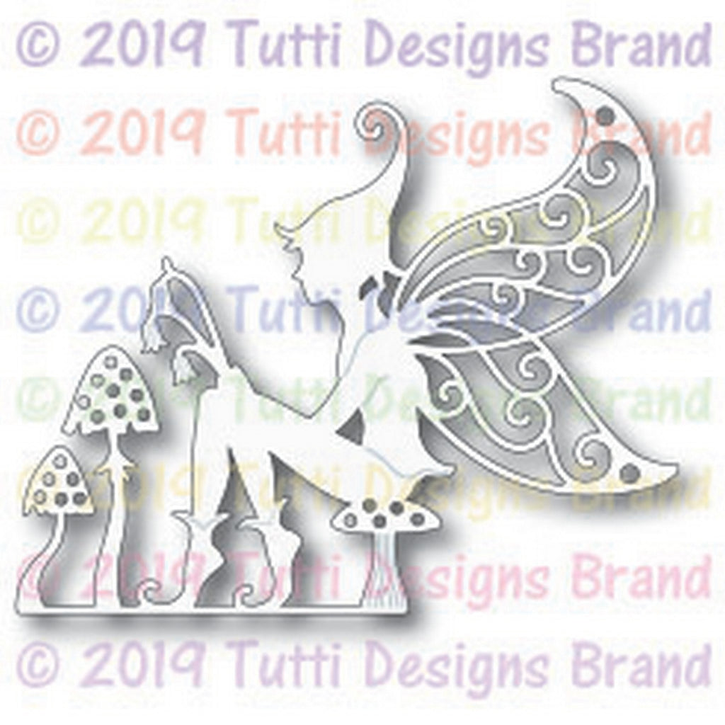 Tutti Designs - Dies - Fairy On Toadstool