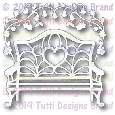 Tutti Designs - Dies - Garden Bench Set