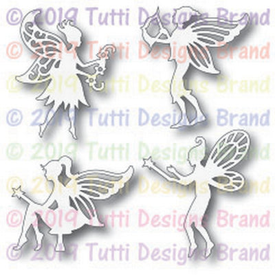 Tutti Designs - Dies - Fairies Set
