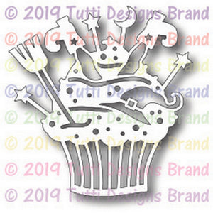 Tutti Designs - Witchy Cupcake