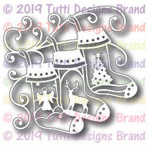 Tutti Designs - Festive Stockings