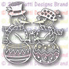 Tutti Designs - Snowman Couple