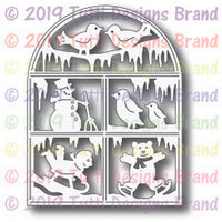 Tutti Designs - Winter Wonderland Window