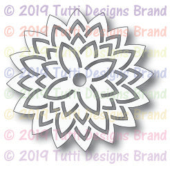 Tutti Designs - Dies - Asian Lotus Flower