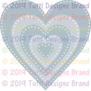 Tutti Designs - Dies - Cross Stitch Hearts