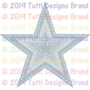 Tutti Designs - Dies - Cross Stitch Stars