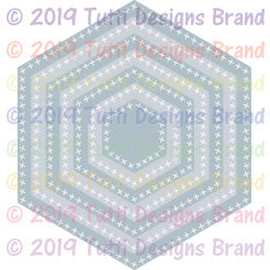Tutti Designs - Dies - Cross Stitch Hexagons