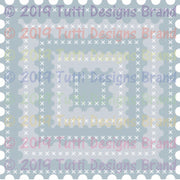 Tutti Designs - Dies - Cross Stitch Postage