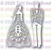Tutti Designs - Dies - Bride & Groom