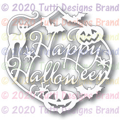 Tutti Designs - Dies - Halloween Ornament