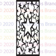 Tutti Designs - Dies - Slimline - Stars Background