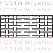 Tutti Designs - Dies - Slimline - Oriental Screen 2 Background