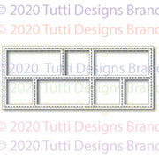 Tutti Designs - Dies - Slimline - Stitched Collage
