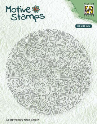 Nellie's Choice - Stamps - Flower Power