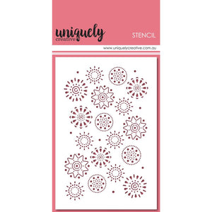 Uniquely Creative - Stencils - Arty Elements