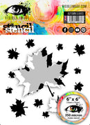 Visible Image - Stencils - Autumn Leaves