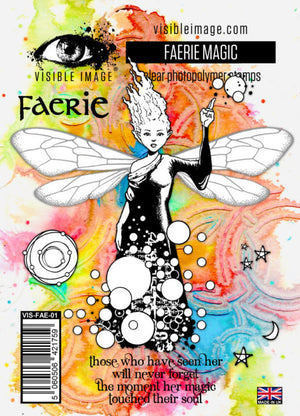Visible Image - Stamps - Faerie Magic