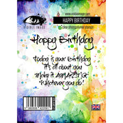 Visible Image - Stamps - Happy Birthday