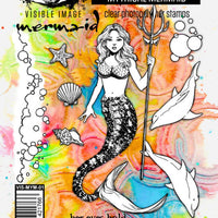 Visible Image - Stamps - Mythical Mermaid