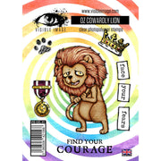 Visible Image - Stamps - OZ Cowardly Lion Stamps