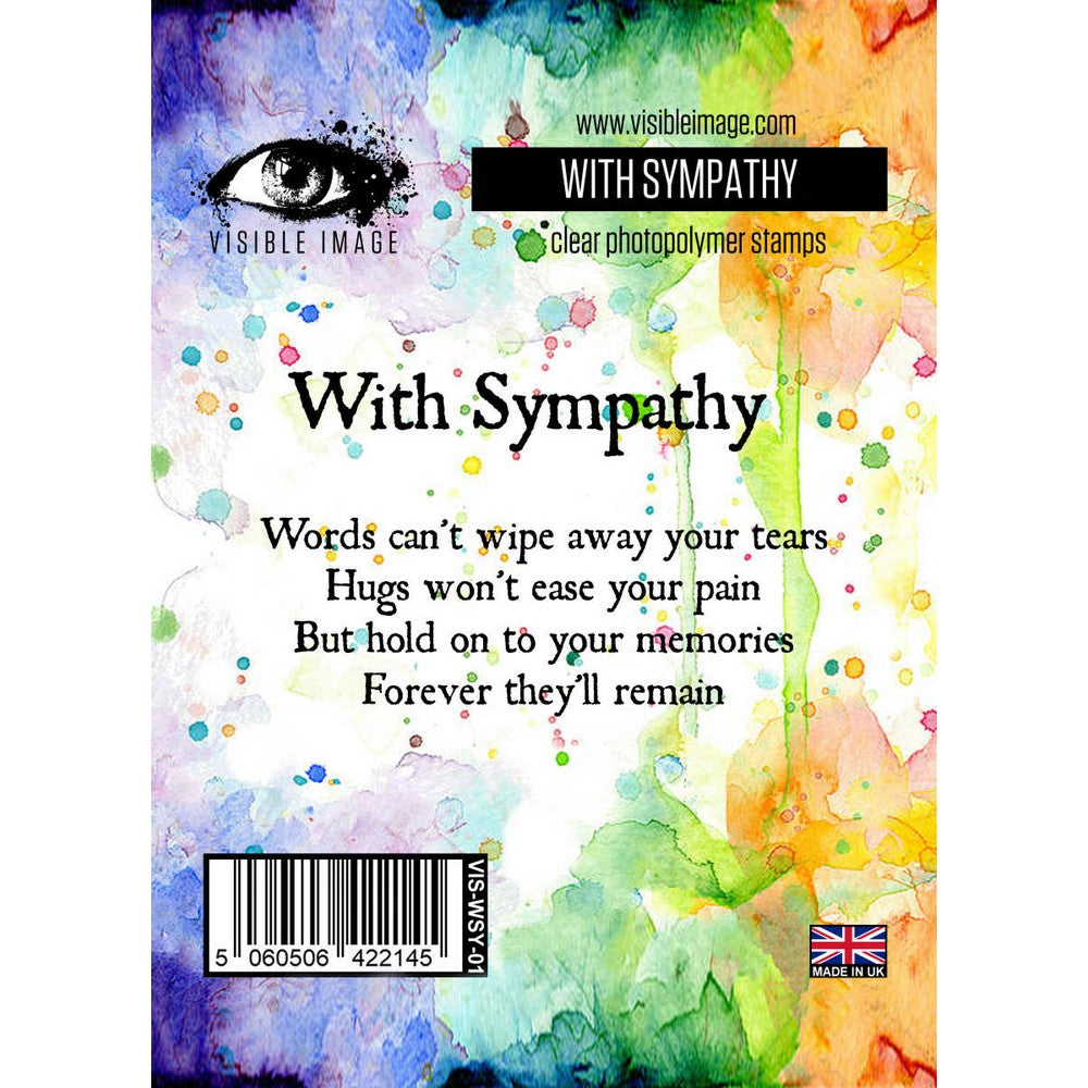 Visible Image - Stamps - With Sympathy