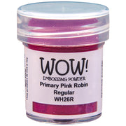 Wow! - Embossing Powder - Primary Pink Robin