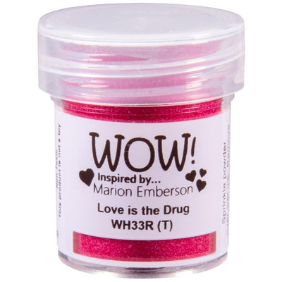 Wow! - Embossing Powder - Love Is In The Drug