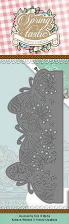 Yvonne Creations - Dies - Spring-tastic - Butterfly Border