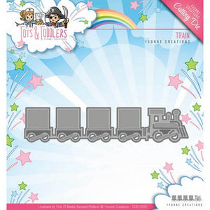 Yvonne Creations - Dies - Tots & Toddlers - Train
