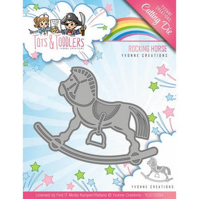 Yvonne Creations - Dies - Tots & Toddlers - Rocking Horse