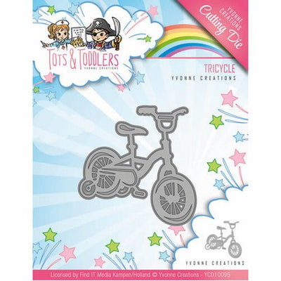 Yvonne Creations - Dies - Tots & Toddlers - Tricyle