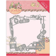 Yvonne Creations - Dies - Get Well Soon - Get Well Frame