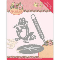 Yvonne Creations - Dies - Get Well Soon - Get well frog