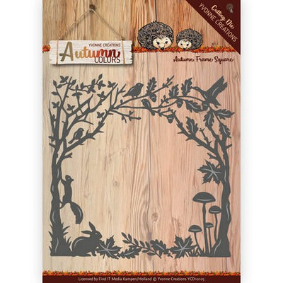 Yvonne Creations - Dies - Autumn Colors - Frame Square