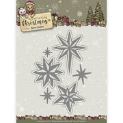 Yvonne Creations - Dies - Celebrating Chirstmas - Twinkling Stars